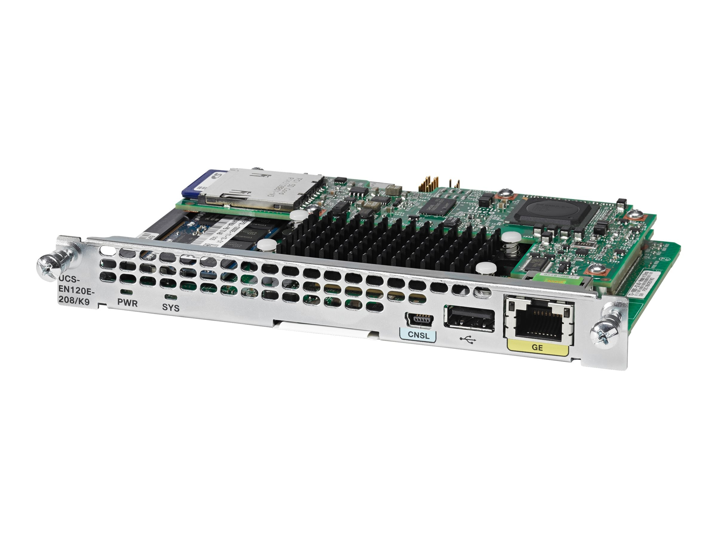 Cisco UCS E-SERIES NCE DW-EHWIC 2C RANGELEY 8G, UCS-EN120E-58/K9=, 31889359, Wireless Adapters & NICs