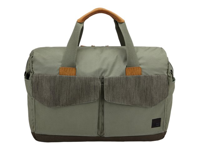 Case Logic LoDo 15 Laptop Satchel, Petrol, LODB115PETROL, 30640113, Carrying Cases - Notebook