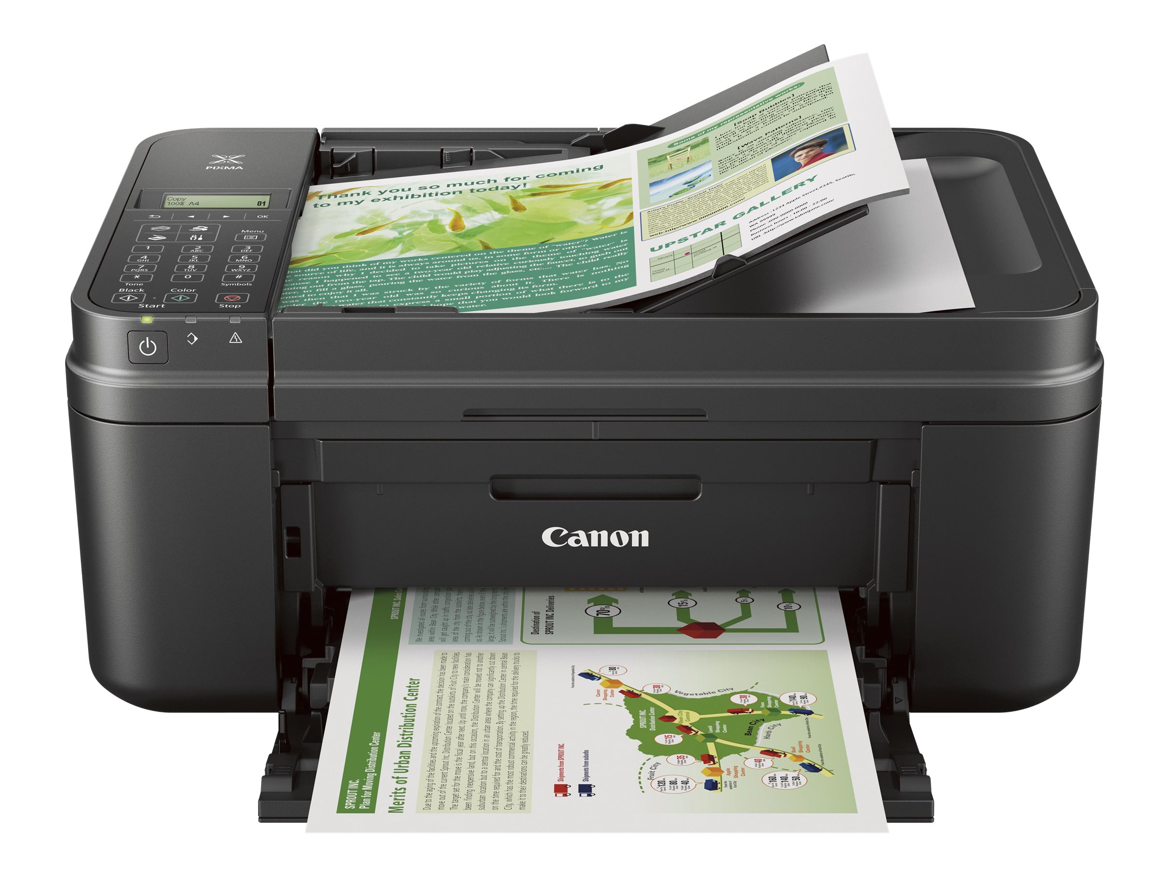 Canon PIXMA MX492 Wireless Inkjet Office All-In-One - Black, 0013C002