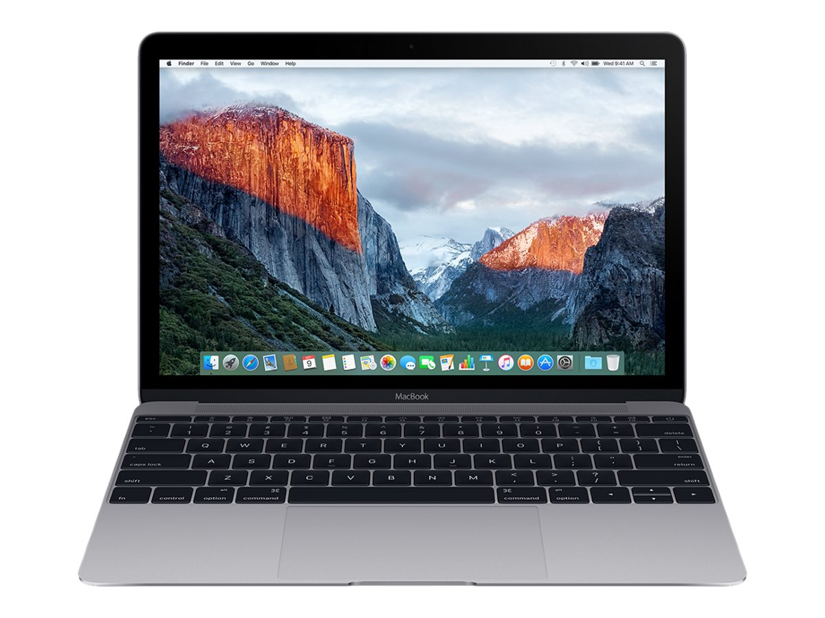 Apple MacBook 12 Retina Display 1.2GHz Core m5 8GB 512GB Flash Intel HD 515 Space Gray, MLH82LL/A, 31917962, Notebooks - MacBooks