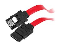 Siig Serial ATA Latching Cable, 12in, CB-SA0512-S1, 15742058, Cables