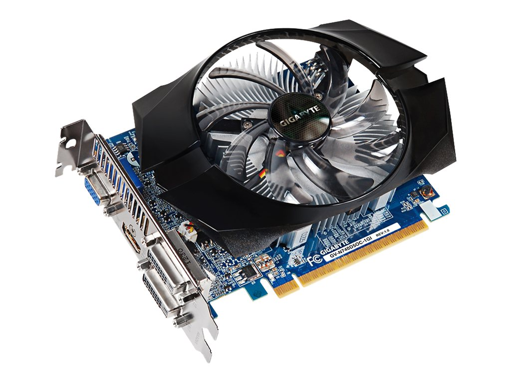 Gigabyte Tech GeForce GT 740 PCIe 3.0 Overclocked Graphics Card, 1GB GDDR5, GV-N740D5OC-1GI, 17498562, Graphics/Video Accelerators