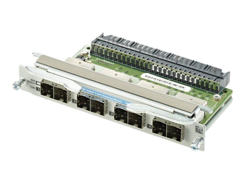 HPE Aruba 3800 4-Port Stacking Module, J9577A, 13257366, Network Device Modules & Accessories