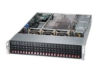 Supermicro SuperChassis 216BE26 2U RM (2x)Intel AMD 24x2.5 HS Bays 7xExpansion Slots 3xFans 920W RPS