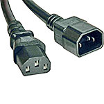 Tripp Lite Power Cord , 18AWG, C14 to C13, 6ft
