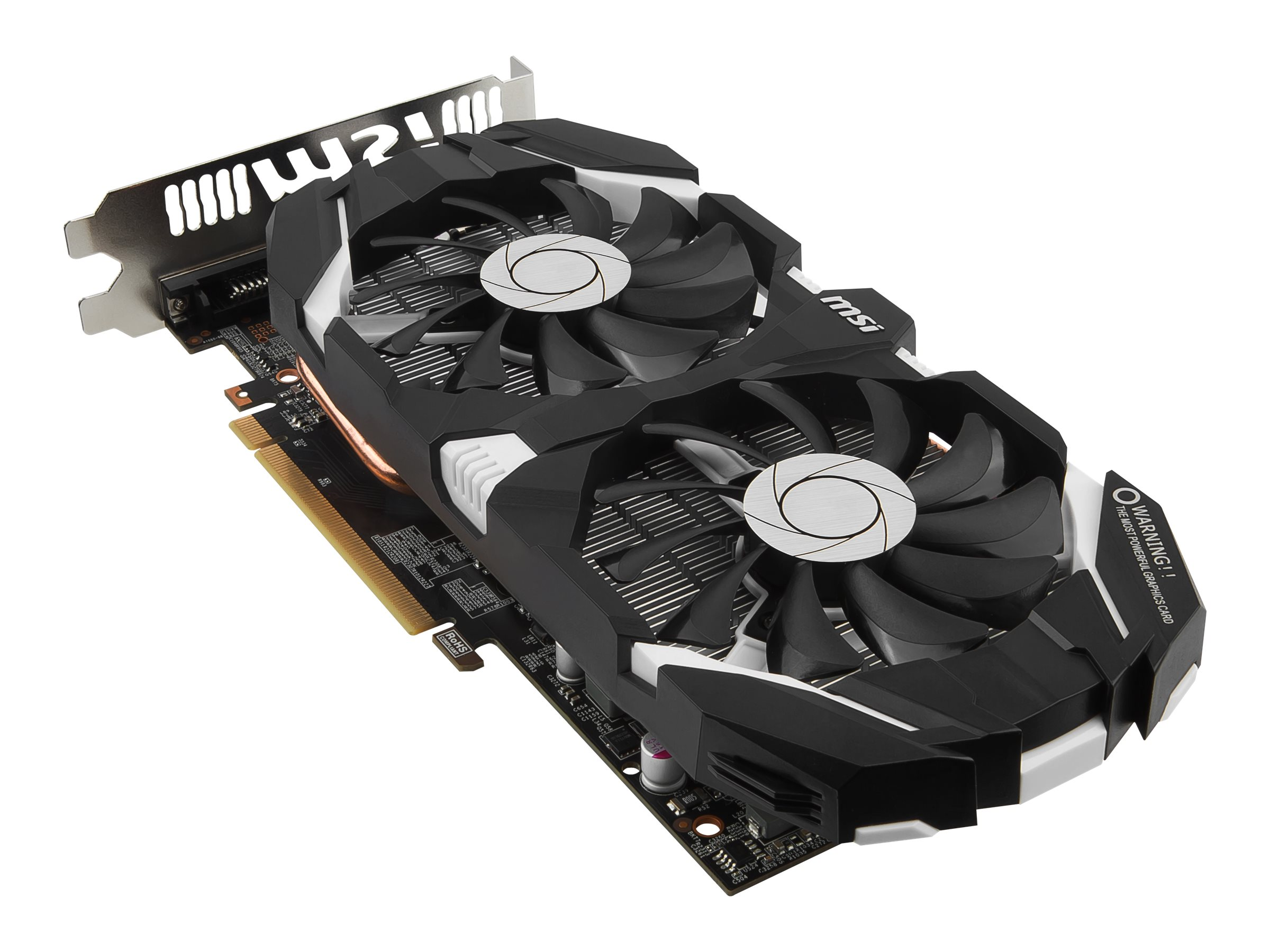 Microstar GeForce GTX 1060 PCIe Overclocked Graphics Card, 6GB GDDR5