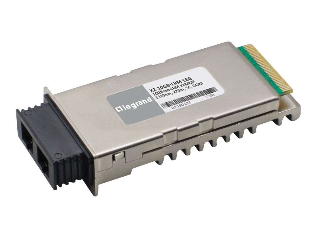C2G Cisco X2-10GB-LRM Compatible 10GBase-LRM X2 TAA Transceiver