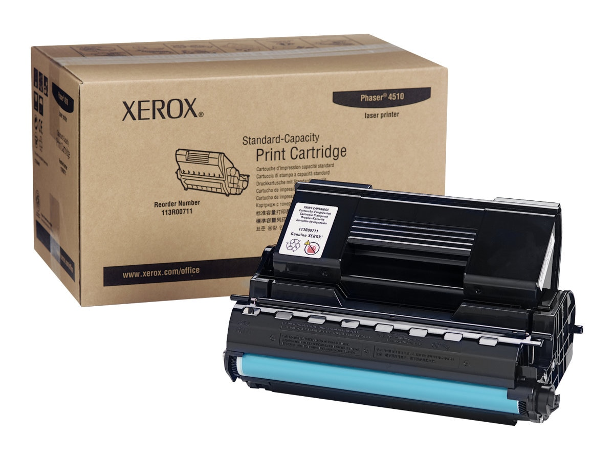Xerox Black Toner Cartridge for the Phaser 4510 Series Printers, 113R00711