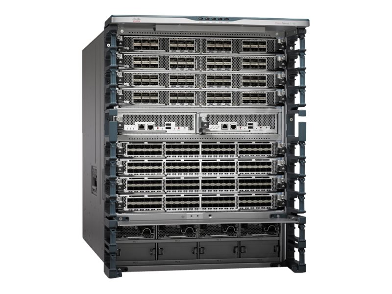 Cisco ONE N7706 Bundle w Chassis, 2xSUP2E, 6xFAB2, No PS, C1-N7706-B26S2E, 30820683, Network Switches