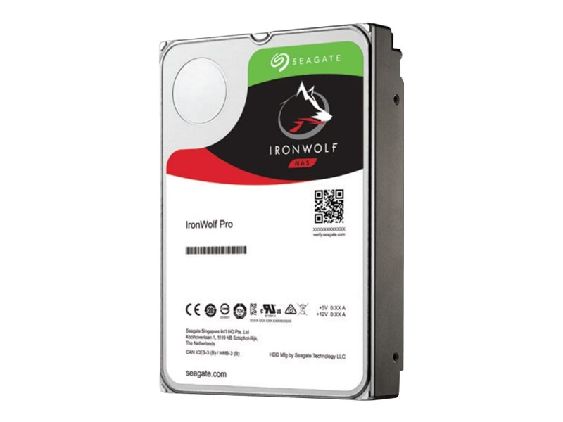 Seagate 6TB IronWolf Pro NAS SATA 3.5 Internal Hard Drive - 256MB Cache