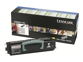 Lexmark Black Return Program Toner Cartridge for X204 Series Monochrome Laser MFPs, X203A11G, 9882214, Toner and Imaging Components