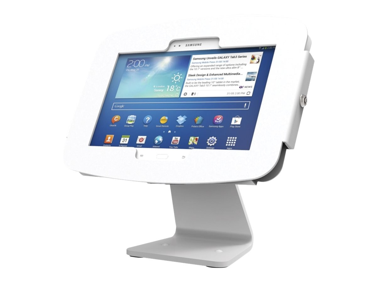 Compulocks Galaxy Space Kiosk Enclosure 360, White