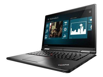 Lenovo TopSeller ThinkPad S1 Yoga Core i7-4500U 1.8GHz 8GB 180GB SSD ac BT WC 8C 12.5 HD AS W8.1P64, 20CD002UUS, 16413512, Notebooks - Convertible