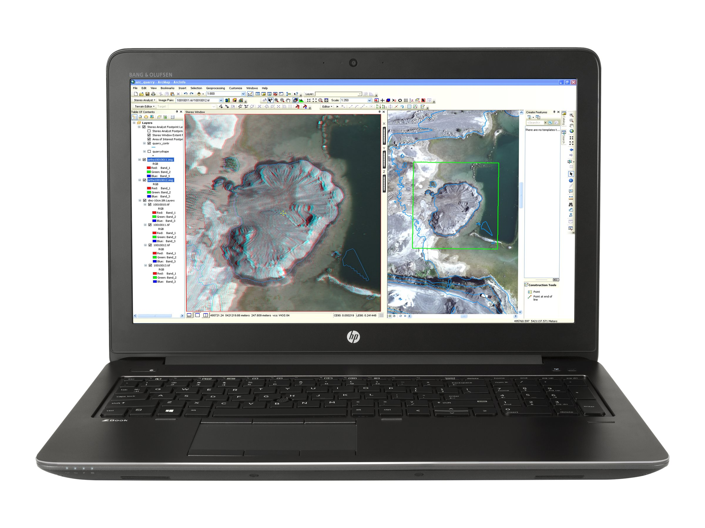 HP ZBook 15 G3 Core i7-6820HQ 2.7GHz 8GB 256GB ac BT FR WC 9C M1000M 15.6 FHD W7P64-W10P