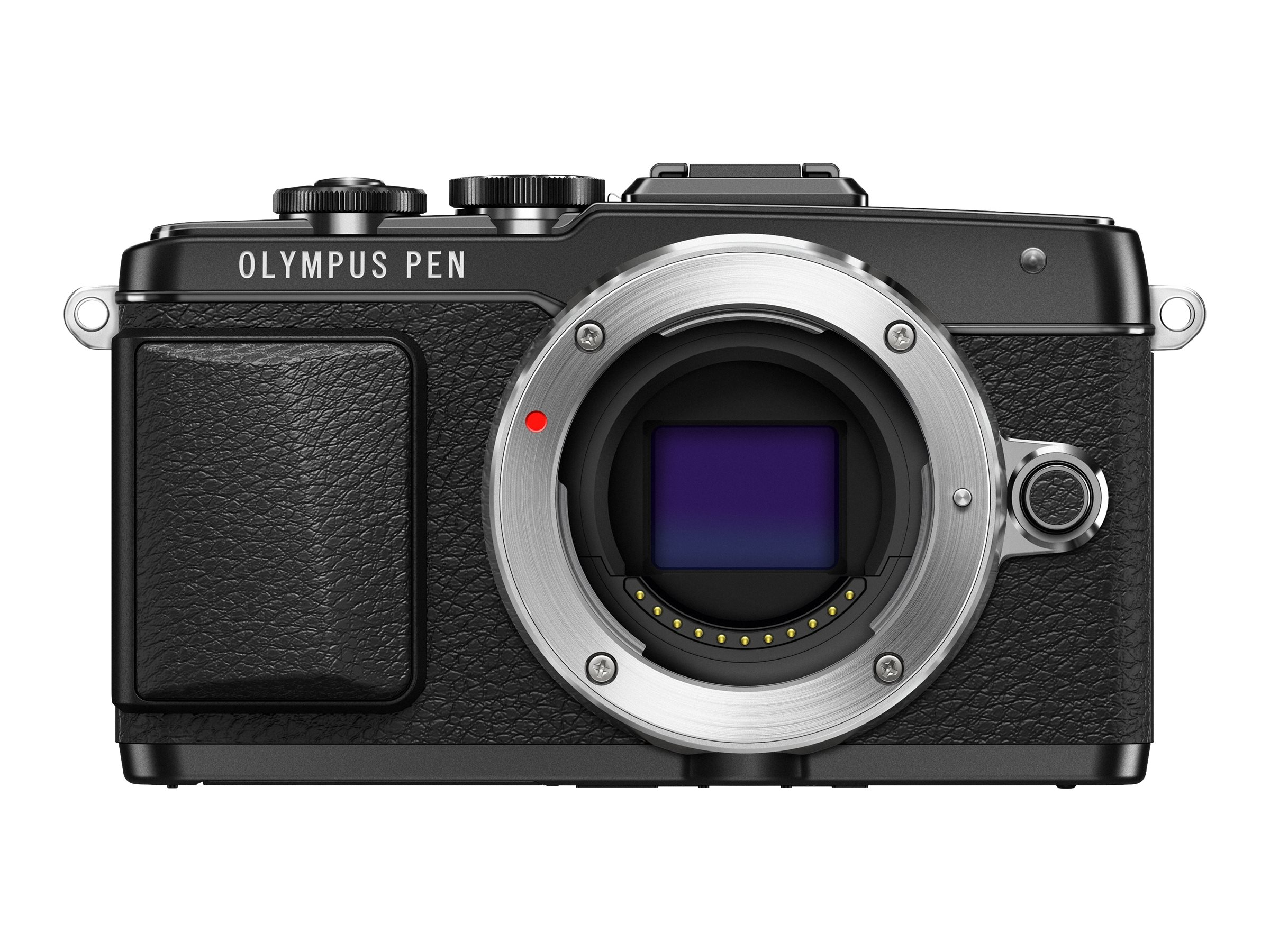 Olympus PEN E-PL7 Mirrorless Micro Four Thirds Digital Camera, Black (Body Only), V205070BU000