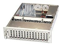 Supermicro Chassis, 3U, SC932S1-R760, JBOD, 14 1 SCA HS Bays, 760W TRPS, Beige, CSE-932S1-R760, 6466549, Cases - Systems/Servers
