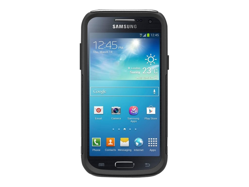 OtterBox Commuter Case for Samsung Galaxy S 4 mini, Black, 77-31583, 16596152, Carrying Cases - Phones/PDAs