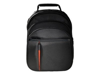 Eco Style Luxe BackPack, Fits 16.1 Notebook, Black, ELUX-BP14, 13932860, Carrying Cases - Notebook