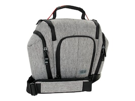 Accessory Genie DSLR Camera Case w  Lens Storage, GRULUTX100GYEW, 32189856, Carrying Cases - Camera/Camcorder