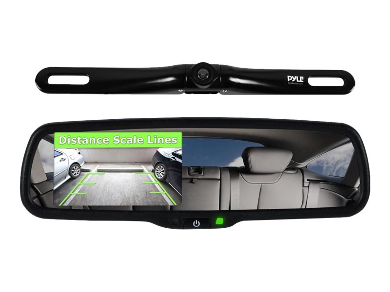 Pyle Full HD 1080P DVR Dual Camera Video Driving System Rearview Backup, PLCM4550