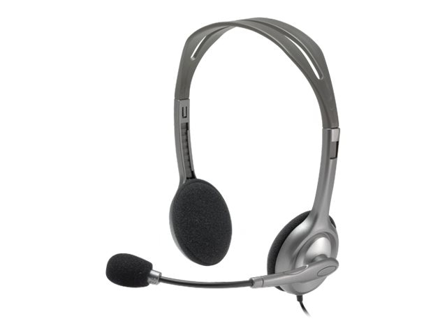 Logitech H110 Stereo Headset, 981-000214, 11400632, Headsets (w/ microphone)