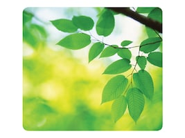 Fellowes Recycled Optical Mouse Pad, Leaves, 5903801, 8882491, Ergonomic Products