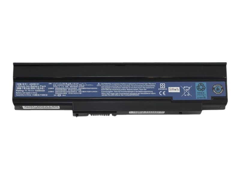 Arclyte Battery 6-cell for Acer, N02186, 16207903, Batteries - Notebook