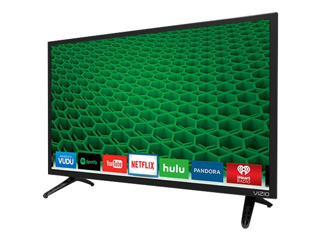 Vizio 24 D24-D1 LED-LCD Smart TV, Black, D24-D1