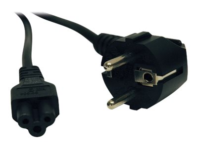 Tripp Lite Power Cable, Heavy Duty, C5 to CEE 7 7 SCHUKO, 250V 16A, 6ft, P058-006, 11988851, Power Cords