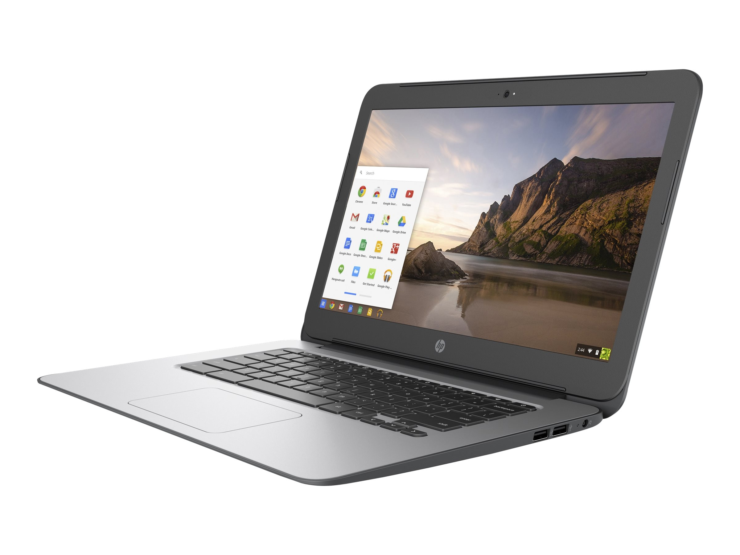 HP Chromebook 14 G4 Celeron N2840 2.16GHz 4GB 16GB abgn BT WC 3C 14 HD Chrome OS, T4M32UT#ABA, 30630177, Notebooks