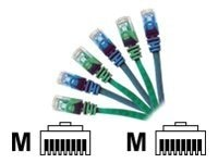 CP Technologies ClearLinks Cat6 550MHz Patch Cable without Boots, Blue, 50ft