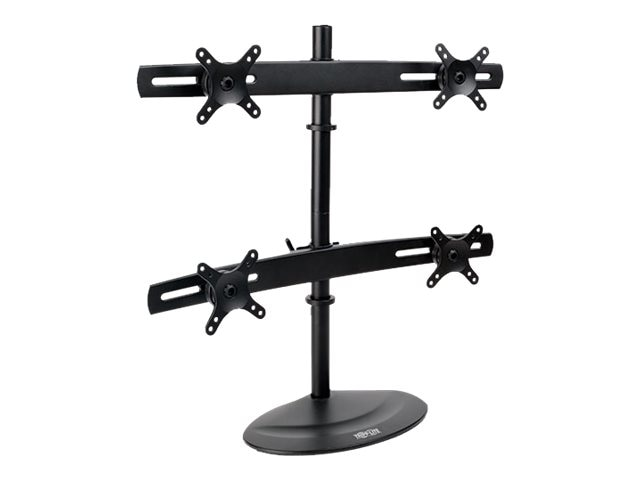 Tripp Lite Quad Full-Motion Desk Mount for 10 to 26 Displays, TVs, LCDs, Monitors