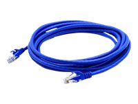 ACP-EP CAT6A Snagless Copper Booted Patch Cable, Blue, 10ft, 25-Pack