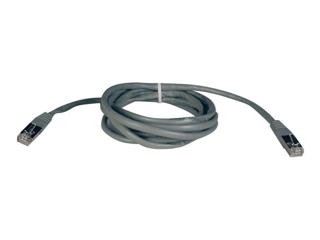 Tripp Lite Cat5e 350MHz Shielded Patch Cable, Gray, 25ft, N105-025-GY