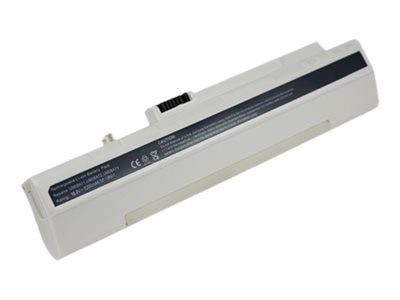 Arclyte Battery Li-Ion 5200mAh 6-cell for Acer Aspire One, White, N00372, 16204593, Batteries - Notebook