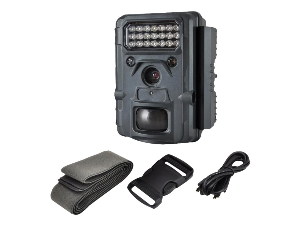 Pyle Waterproof Night Vision Wild Game Trail Scouting Camera with Invisible Flash, PHTCM48