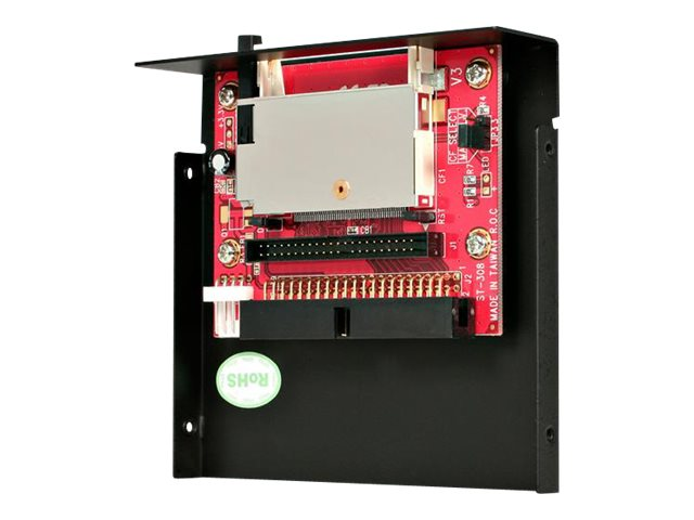 StarTech.com CompactFlash Card to IDE Adapter with 3.5 in. Bay Enclosure, 35BAYCF2IDE