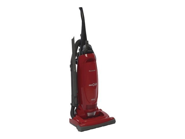Panasonic Upright Vacuum with Cord Reel, Red, MC-UG471