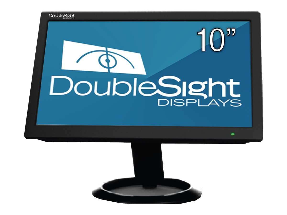 DoubleSight 10 DS-10U LCD Monitor, Black, DS-10U, 16924013, Monitors - LCD