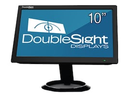 DoubleSight 10 DS-10U LCD Monitor, Black, DS-10U, 16924013, Monitors