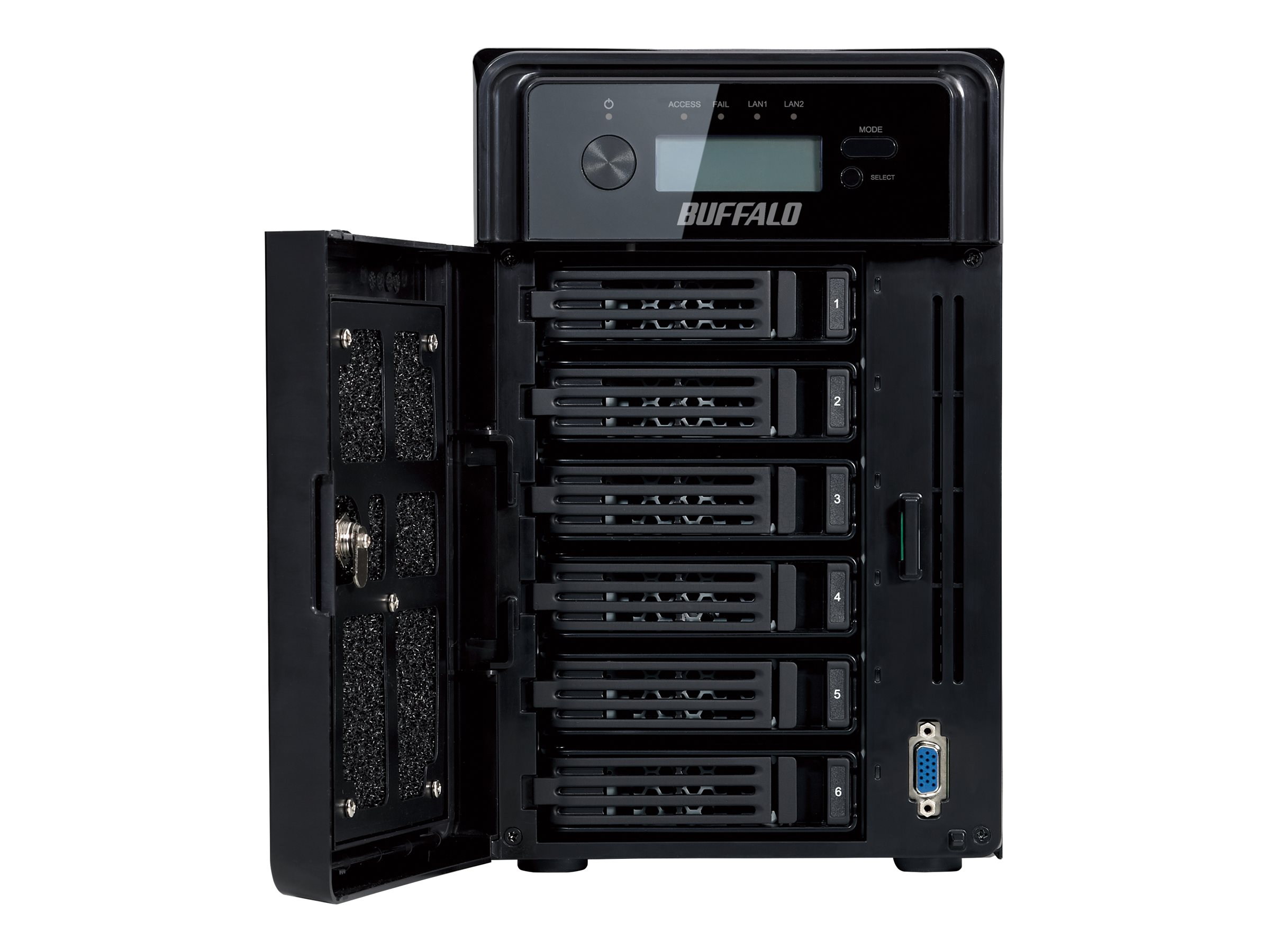 BUFFALO 24TB TeraStation 5610dn WSS Network Attached Storage, WSH5610DN24S2