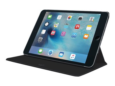 Logitech FOCUS Flexible Case for iPad Mini 4, Black, 939-001448