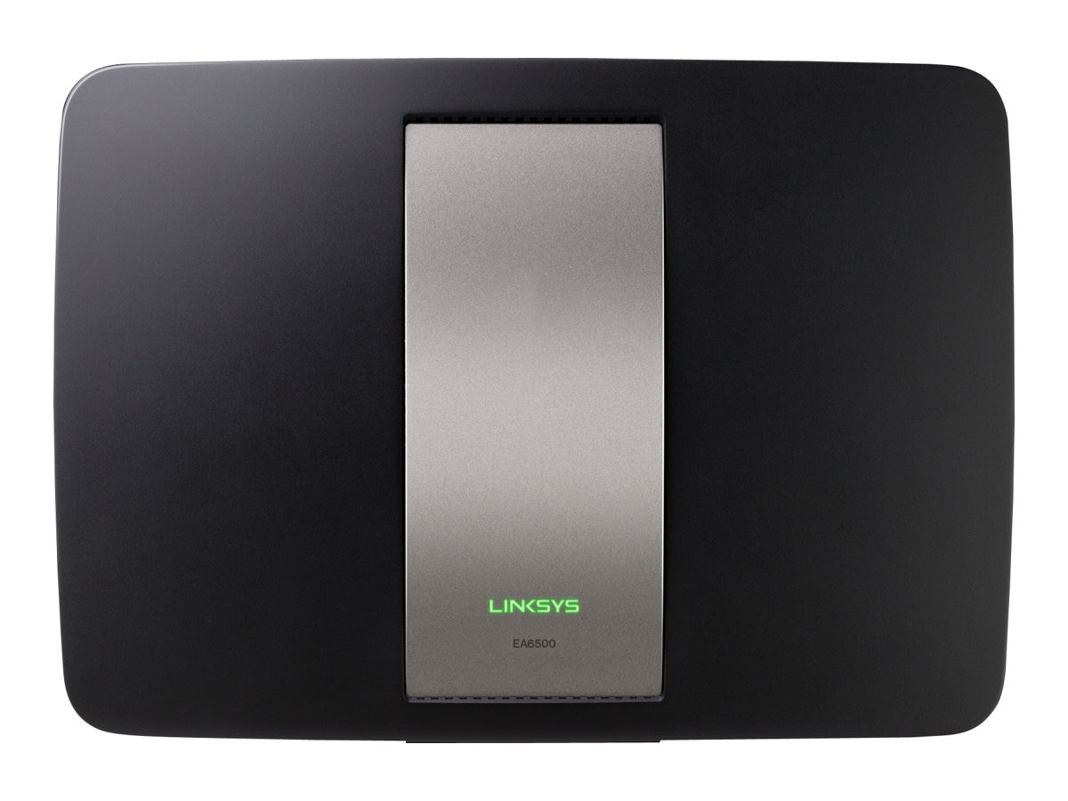 Linksys EA6500 Smart Wi-Fi Dual-Band AC Router with Gigabit and 2x USB, EA6500