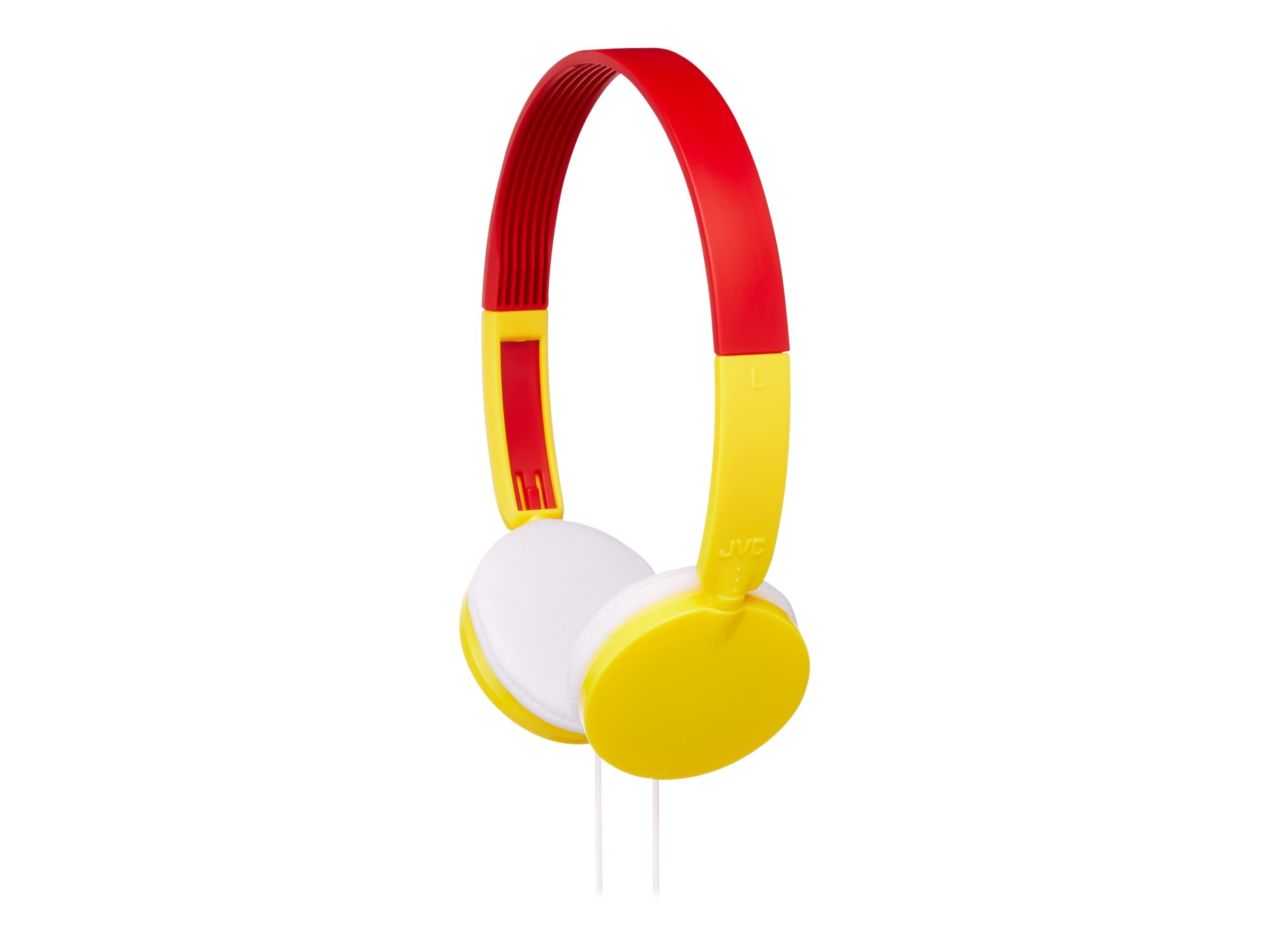 JVC Child Safe Volume Limiting Over Ear Headphones - Yellow, HAKD3Y