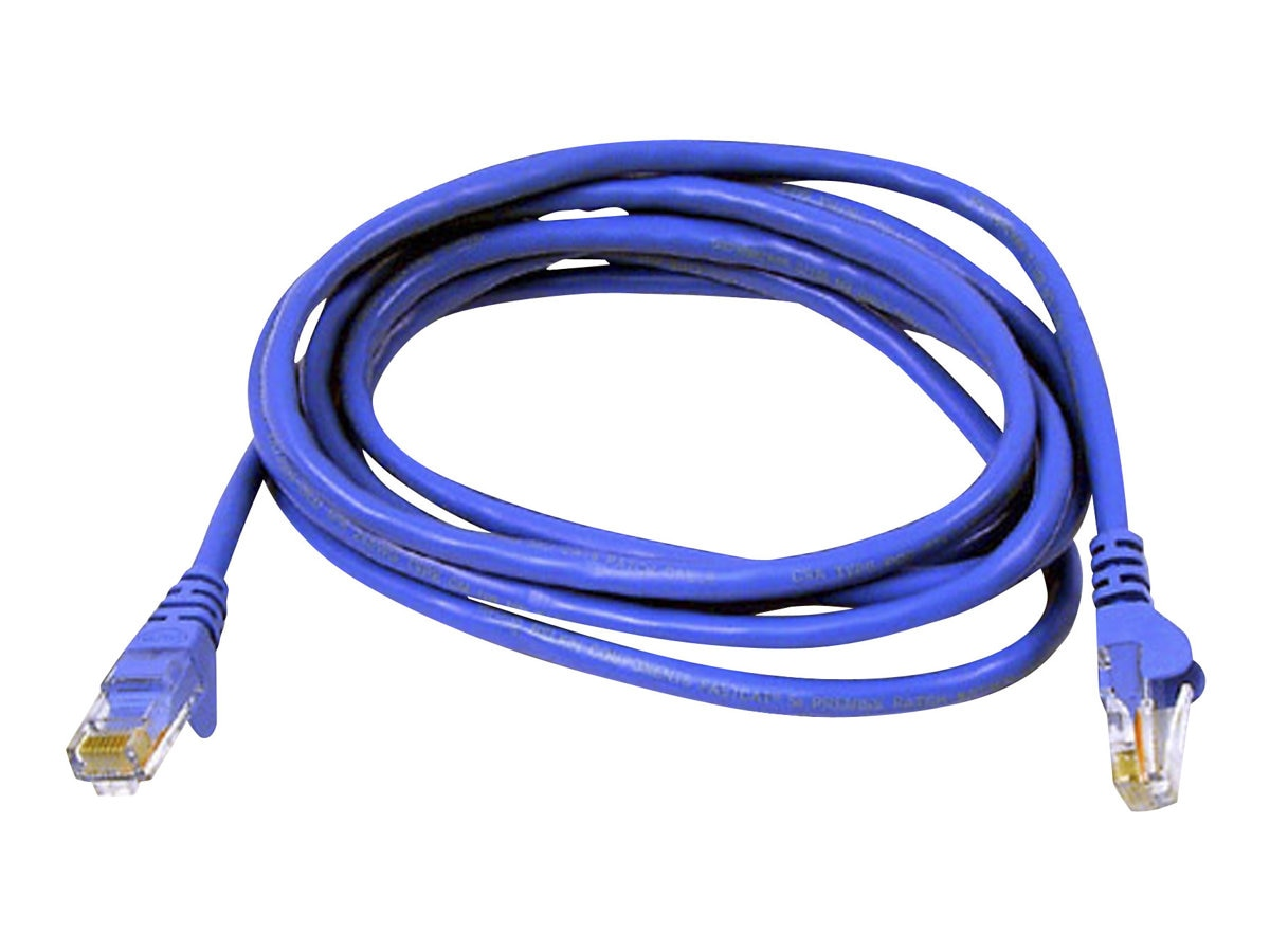 Belkin Cat6 UTP Patch Cable, Blue, Snagless, 6in, A3L980-06IN-BLS, 7702398, Cables