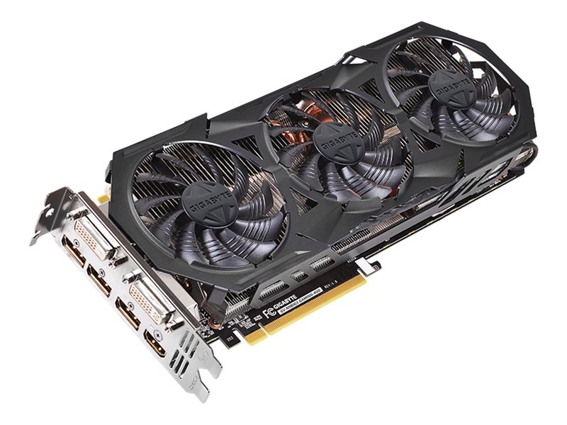 Gigabyte Tech GeForce GTX 980 PCIe 3.0 x16 Super Overclocked Graphics Card, 4GB GDDR5, GV-N980G1 GAMING-4GD, 17866257, Graphics/Video Accelerators