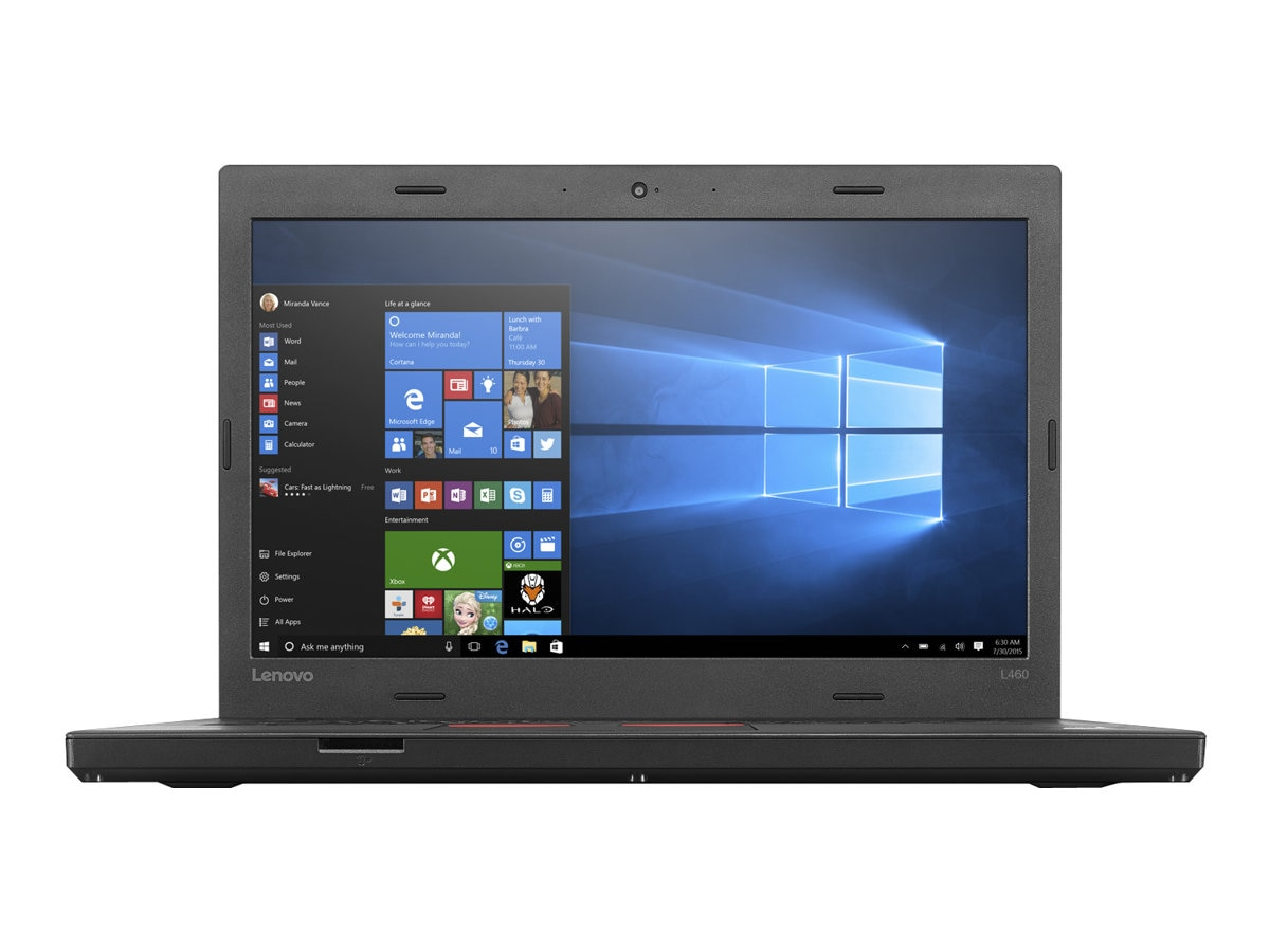 Lenovo TopSeller ThinkPad L460 2.3GHz Core i3 14in display, 20FU003PUS