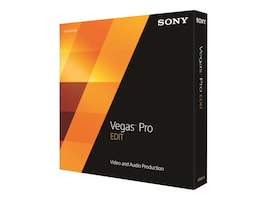 Sony Corp. Vegas Pro 13 Edit, SVPE13000, 17978689, Software - Video Editing