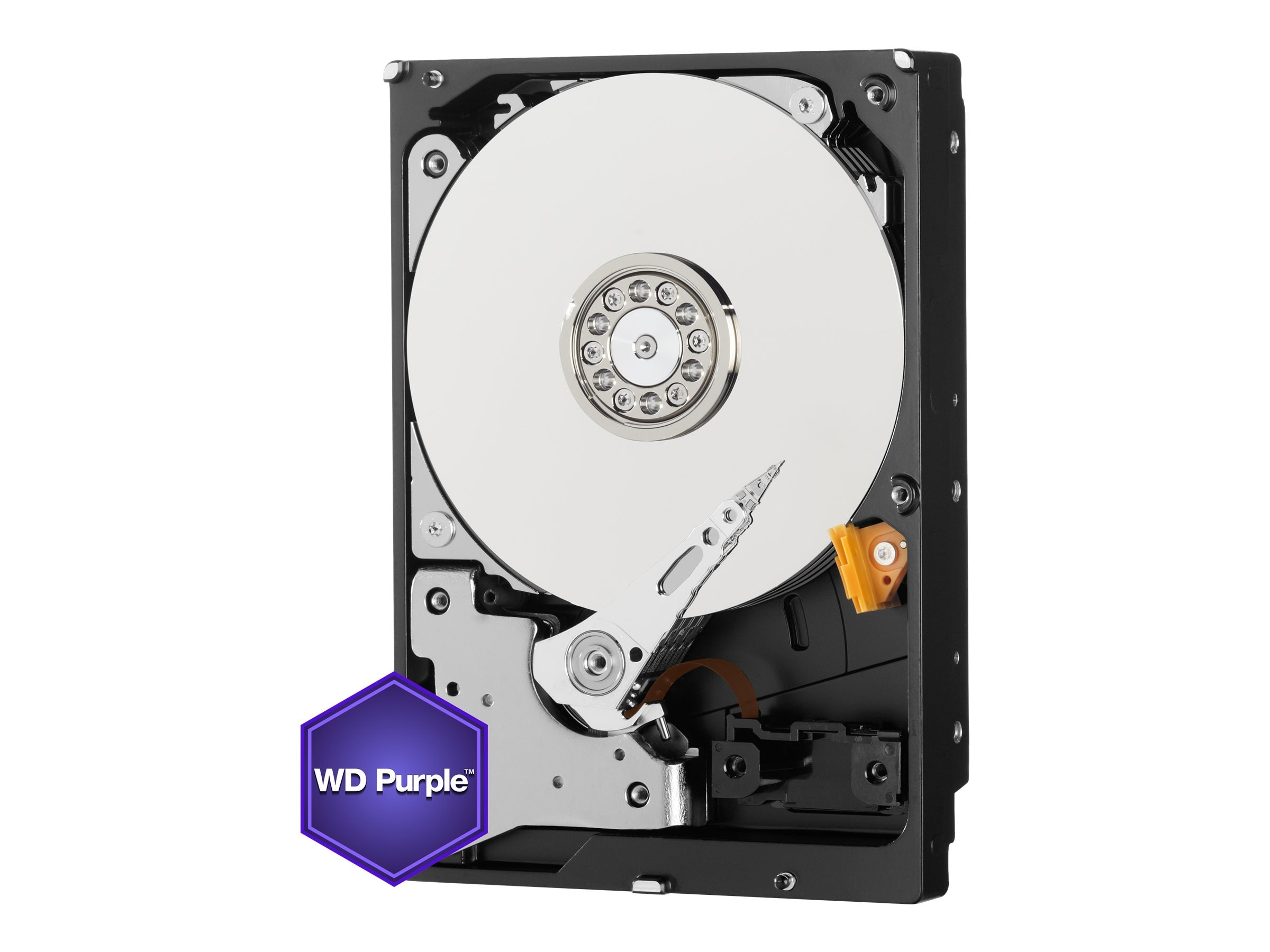 WD 1TB WD Purple SATA 6Gb s 3.5 Internal Surveillance Hard Drive