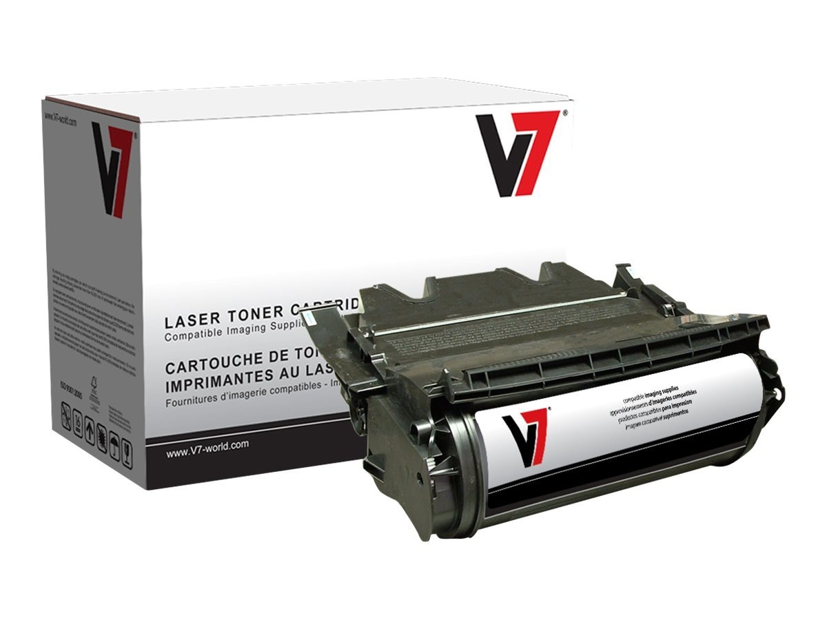 V7 V7D5210 Black High Yield Toner Cartridge for Dell 5210N, V7D5210, 11125917, Toner and Imaging Components